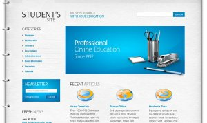 Students-site-Free-Education-Website-Template